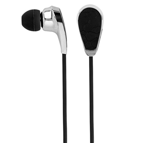New Extremely Light wireless music Bluetooth Headset motion stereo Headset Nero