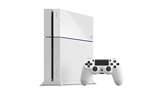 PlayStation 4 White: Console 500GB  [Limited]
