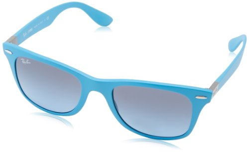 Ray-Ban - Occhiali da sole Wayfarer Liteforce RB4195 Wayfarer, Blue (60848F 60848F)