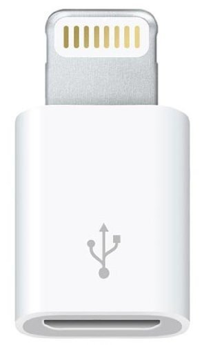 Adattatore da micro USB a connettore lightning per iPad4, iPad Mini, iPhone 5 e iPod Nano7