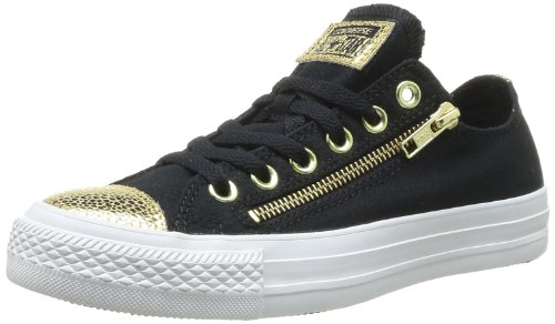 Converse, Chuck Taylor All Star Star Player Arkle OX, Sneaker, Donna, Nero (Noir/OR), 39