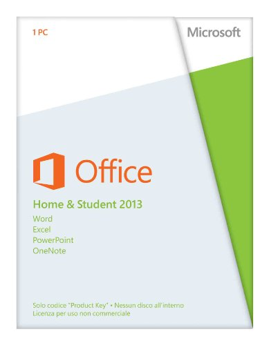 Microsoft Office Home and Student 2013, 32 & 64 Bit  [Lingua: Italiano]