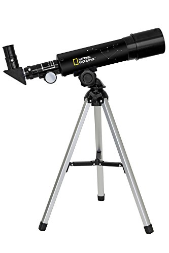 NATIONAL GEOGRAPHIC TELESCOPIO AZ RIFRATTORE 50/360 CON ACCESSORI INCLUSI