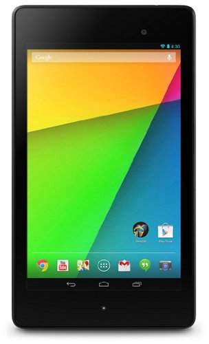 Asus Google Nexus 7 Tablet 16 GB, Display Multitouch da 7 Pollici, FullHD, Dual Camera, Android 4.3 Jelly Bean, Nero