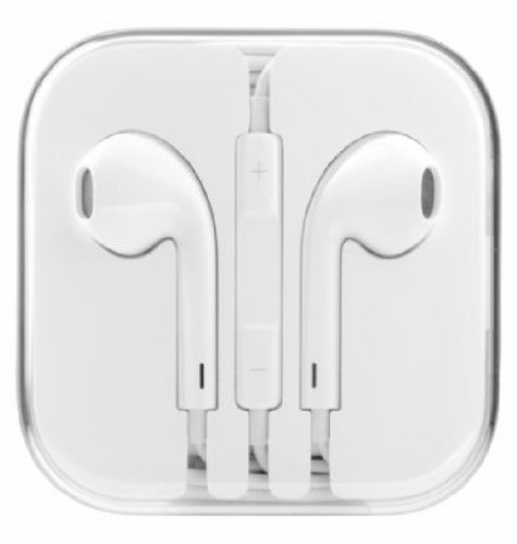CUFFIE AURICOLARI APPLE IPHONE 5 / IPHONE 4S / IPHONE 4 / IPAD / IPOD TOUCH /IPAD MINI / IPHONE 3GS COMPATIBILI EARPODS CON TELECOMANDO E MICROFONO