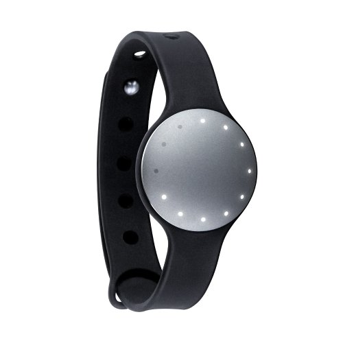 Mistfit Wearables, Monitor di attività fisica Personal Physical Activity Tracker Shine Monitor , Grigio (Chrome)