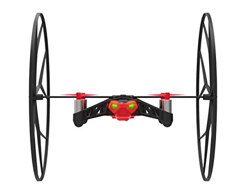 Parrot Minidrones Rolling Spider Drone, Rosso