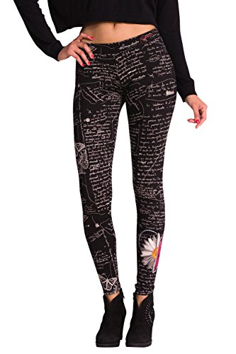 Donna Web Point Nero Desigual Elettronica Leggings Da Store EaqI6p