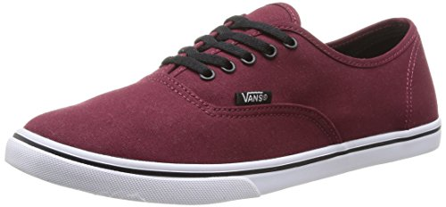 Vans  U AUTHENTIC LO PRO TAWNY PORT/TRUE,  Sneaker unisex adulto, Rosso (Rot (tawny port/true white)), 40.5