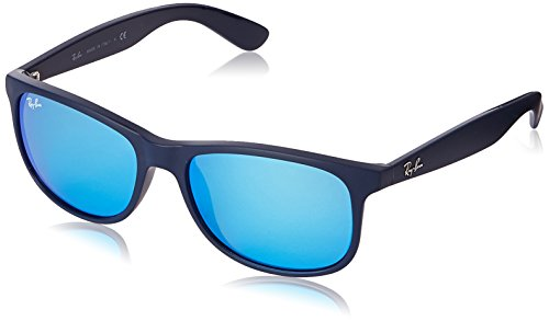Ray-ban - Mod. 4202 , Occhiali Da Sole da uomo, shiny blue on matte top (shiny blue on matte top), 55