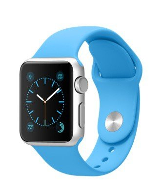 Apple Watch Sport 42mm With Blue Sport Aluminium MJ3Q2B/A