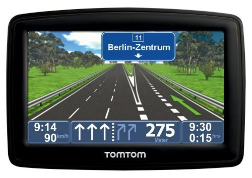 "TomTom XL 2 IQ Routes Central Europe Traffic Navigatore incl. TMC 4,3""; 19 mappe precaricate, Easy Menu,  Indicatore di corsia [Importato da Germania]"