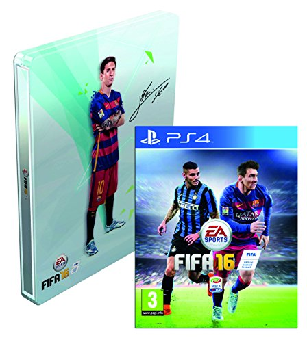FIFA 16 + SteelBook - Esclusiva Amazon - PlayStation 4