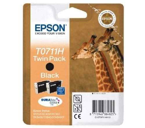Epson Cartucce Multipack T0711H DURABrite Ultra Ink