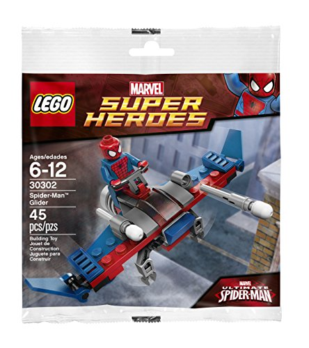 LEGO Super Heroes: Spider-Man Aliante Set 30302 (Insaccato)