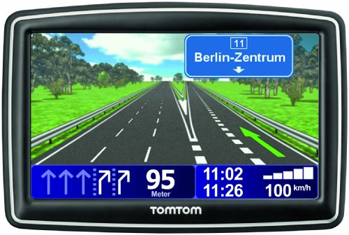 TomTom XXL IQ Routes Europe Traffic Navigatore incl. TMC (12,7 cm(5 pollici); 42 mappe precaricate, Indicatore di corsia, Text-to-Speech)