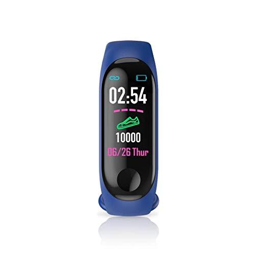 scottpown Inseguitore di Fitness Intelligente del Monitor di frequenza del Polsino di Sport di Bluetooth Impermeabile Smartwatch