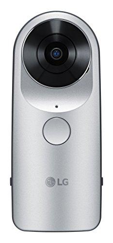 LG 360 CAM Videocamera con Cattura Sferica, Argento