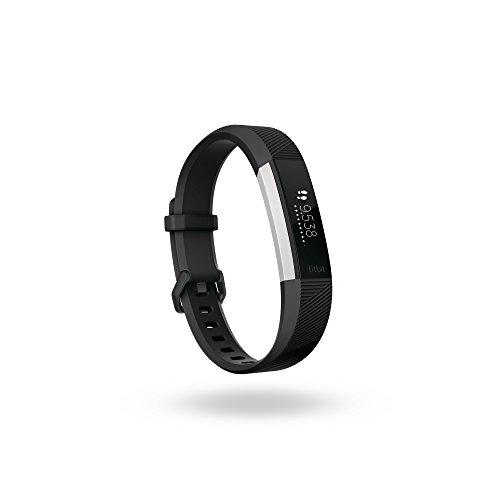 Fitbit Alta Hr Braccialetto Wireless Monitoraggio Battito Cardiaco Unisex, Nero, Taglia L