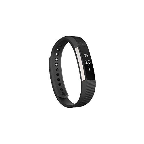 Fitbit Alta Braccialetto Fitness, Nero, L