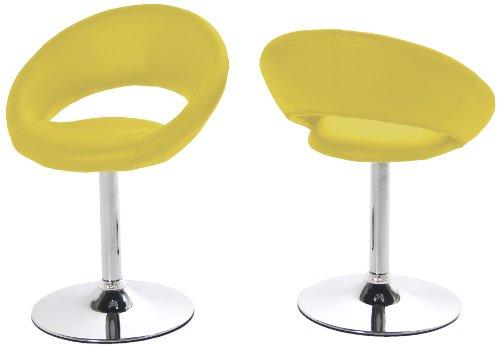 Ac design furniture thilde 48708 set di sedie girevoli for Sedie design furniture e commerce