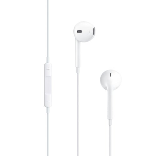APPLE AURICOLARE iPad IPHONE 5 originale MICROFONO TASTO RISPOSTA EarPods MD827ZM/A bianco BULK
