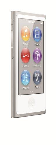 Apple MD480LL/A iPod Nano 16 GB 7 Gen., colore: Bianco e Argento