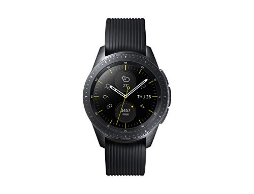 Samsung Galaxy Watch, Smartwatch Android, Bluetooth 4.2, Fitness Tracker e GPS, Nero, 42 mm [Versione Italiana]