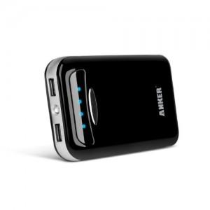 Anker® Astro E5 15000mAh Batteria Esterna (Caricabatterie) Doppia Uscita per Huawei Ascend; Nokia Lumia; Samsung Galaxy S5 , Galaxy S4, Galaxy S3; iPhone; iPad; Sony Xperia Tablet Z