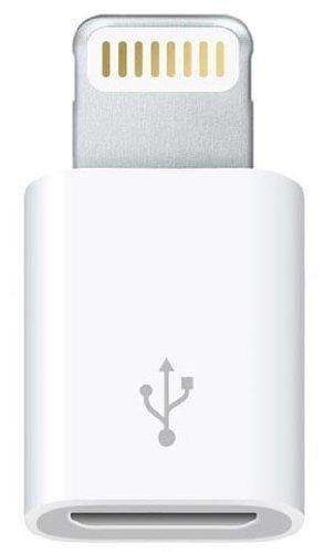 Adattatore da micro USB a connettore lightning per iPad4, iPad Mini, iPhone 5 e iPod Nano7