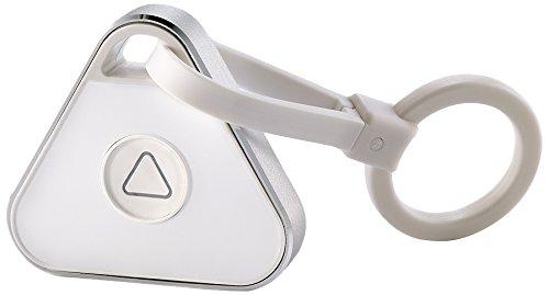RoadEyes RECKEY - Portachiavi con GPS/Bluetooth per smartphone/auto, colore: bianco