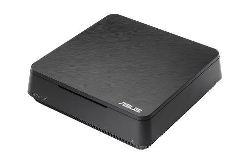 Asus VC60-B046K VivoPC Mini Desktop PC con Processore Intel Core i3, RAM 4 GB, HDD 500 GB, Wi-Fi AC, Tastiera e Mouse USB, Windows 8, Nero
