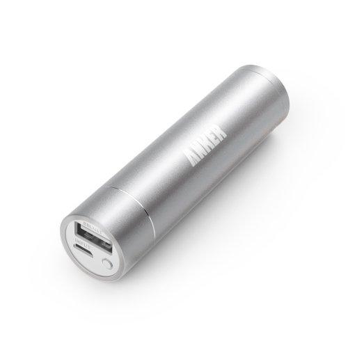 Anker® Batteria esterna 3000mAh Colorata (Caricatore / Caricabatterie) con PowerIQ per Samsung Galaxy S5; iPhone 5s, 5c, 5, 4s, 4(adattatore lightning per Apple NON incluso)