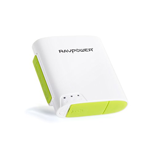 [6-in-1] RAVPower® FileHub RP-WD02 Router Portatile Wireless N + Lettore Wireless per TF Card + Batteria Esterna da 6000mAh + Mobile Storage Media Sharing + WLAN Hot Spot + Nas File Server