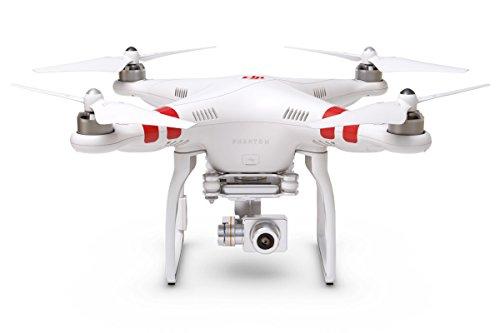 DJI Phantom 2 Vision+, Drone Quadricottero, 5.8GHz Remote Controller, Videocamera Incorporata, Inclinazione 3 Assi