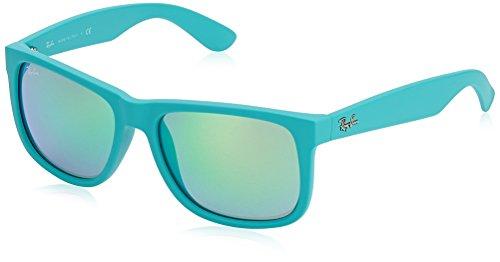 Ray-Ban MOD. 4165 Occhiali da Sole Unisex, Turchese (Turquoise), 54 mm