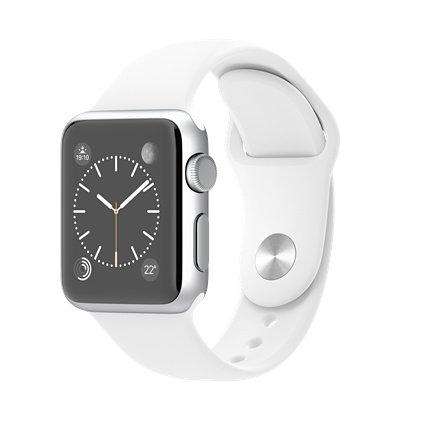 Apple Watch Sport Cassa Alluminio Cinturino Bianco 38 mm Modello MJ2T2B/A