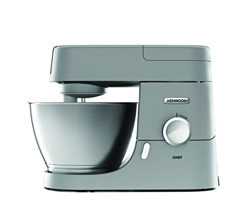 Kenwood KVC3100S Chef Impastatrice Planetaria, 1000 W, Alluminio, Argento