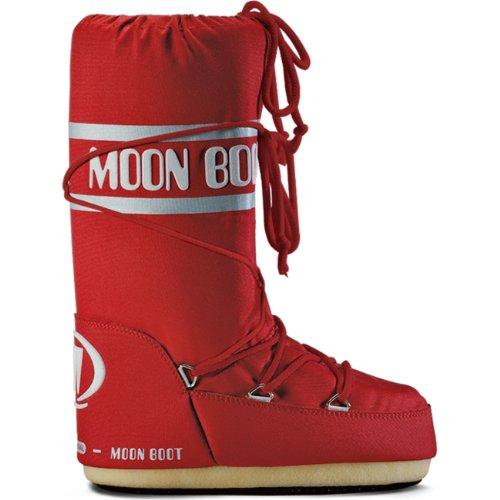 Moon Boot, Tecnica Nylon, Stivali, Unisex,  colore rosso(red (003)), taglia 39-41