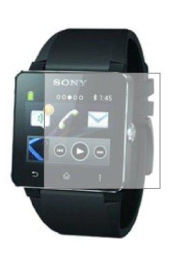 6 x Membrane Pellicola Protettiva Sony Smartwatch 2 II - Trasparente, Confezione ed accessori