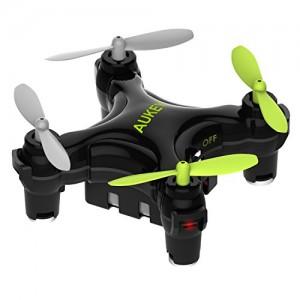 AUKEY Mini Drone 2,4G telecomandato Mini Quadcopter Giroscopio a 4 assi, 6 assi, il tasto di decollo/atterraggio
