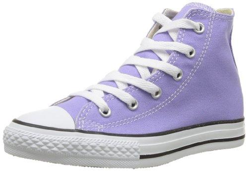 Converse, Chuck Taylor All Star Season HI, Sneaker, Unisex - bambino, Viola (Lavande), 33