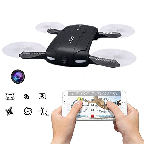 JJRC H37 Elfie tasca pieghevole selfie Drone WIFI FPV altitudine Tenere modalità senza testa Modalità Uno tasto per tornare RC Quacopter