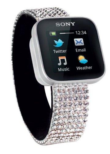 Sony SmartWatch Swarovski Smart Watch for Android OS Sony Samsung smartphone New Box