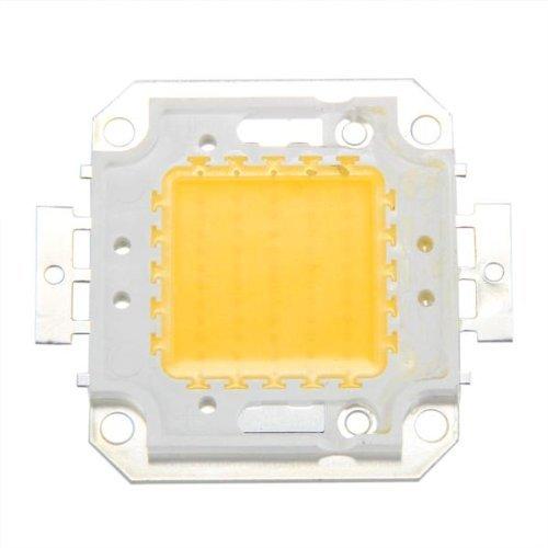 Sonline 50W Chip LED per Lampada Faretto Luce Bianco Caldo 3800LM Alta Potenza DIY