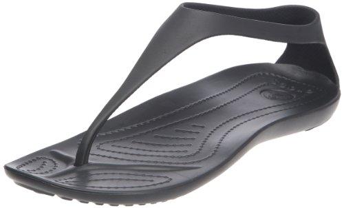 Crocs, Sexi Flip, Sandali, Donna, Nero (Bkbk), 36.5