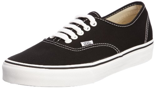 Vans Authentic Sneaker unisex adulto - Nero (black/white), 39