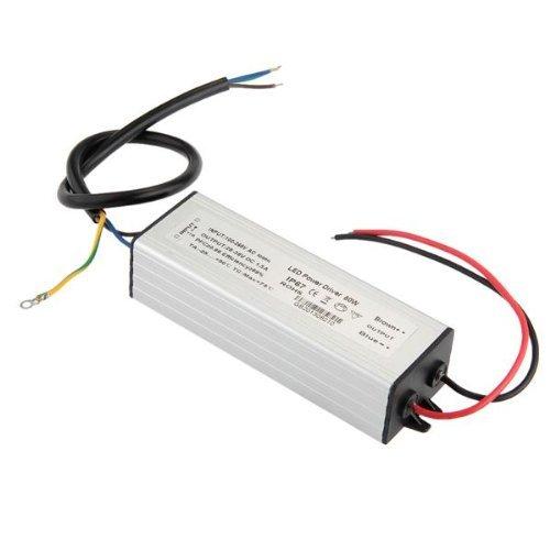 SODIAL(R) LED Alimentatore Driver Corrente Costante DC30-36V 1500mA 50W Impermeabile IP67