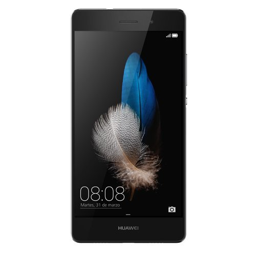 Huawei P8 lite Smartphone, Display 5,0 pollici IPS, Dual sim Processore Octa-Core, Memoria 16 GB, Fotocamera 13 MP, Android 5.0, Nero