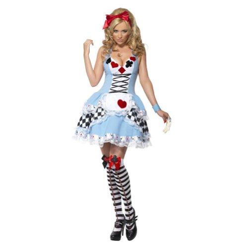 Amurleopard Signore Cosplay 'sexy del costume Poker regina della biancheria mini vestito da partito di Halloween L